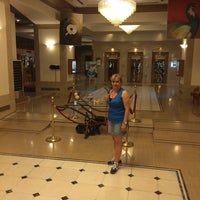 Photo taken at Capsis Hotel Thessaloniki by Refik D. on 6/7/2014