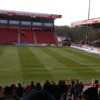 Photo taken at Stadion An der Alten Försterei by Florian W. on 3/17/2018