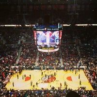 Photo taken at Moda Center by Derek W. on 1/14/2013