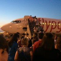 Photo taken at самолет рейса Pegasus by Vladislav B. on 6/10/2014