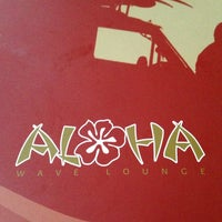 Photo taken at Aloha Coctail & Music Club by Alena S. on 10/16/2013