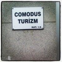 Photo taken at Comodus Turizm by Yeşim T. on 4/19/2013