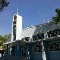 Photo taken at Paróquia Nossa Senhora Dos Navegantes by Willian P. on 5/12/2013