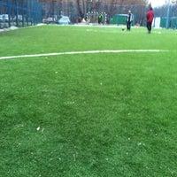 Photo taken at Футбольное Поле by Vova S. on 2/18/2014