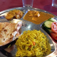 Photo taken at All India Sweets & Restaurant by Priscila O. on 12/7/2014