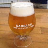 Photo taken at Karbach Brewing Co. by Trish💋 on 6/22/2013