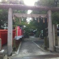 Photo taken at 水野社 by Tamon K. on 9/8/2013
