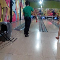 Photo taken at Strike Boliche by Caio S. on 3/9/2014