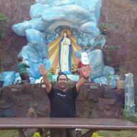Photo taken at Gereja Santa Maria de Fatima Toasebio by Berardus Budhi H. on 1/9/2016