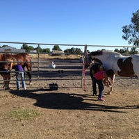 Photo taken at Horsin' Around Riding Lessons by Nola N. on 7/12/2013