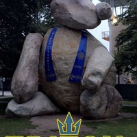 Photo taken at Bear Statue by Balbina S. on 6/12/2016