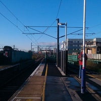 Photo taken at Finsbury Park Railway Station (FPK) by Sam S. on 4/13/2013