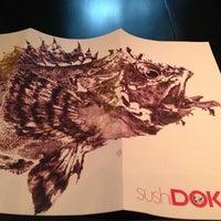 Photo taken at Sushi Dokku by Sara S. on 3/29/2013