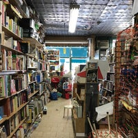 Photo taken at Unoppressive Non-Imperialist Bargain Books by Jacob F. on 4/16/2017