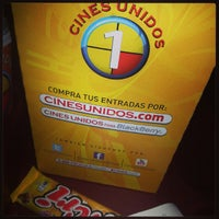 Photo taken at Cines Unidos by Gustavo M. on 10/14/2013