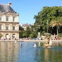 Photo taken at Luxembourg Garden by Marc Andre R. on 8/5/2013