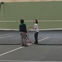 Photo taken at DSİ Tenis Kortları by Yiğit A. on 3/5/2017