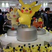 Photo taken at Pokémon Center Osaka by こう☆ セ. on 4/7/2013