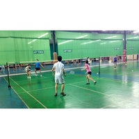 Photo taken at CC Badminton Court by MrBom A. on 7/5/2014