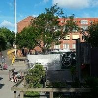 Photo taken at Holbergskolen by Jens Kaaber P. on 6/20/2016