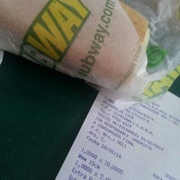 Photo taken at Subway by Cristhian D. on 7/24/2014