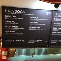 Photo taken at Dog Haus Thousand Oaks by Lorelei F. on 1/25/2018