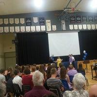 Photo taken at Dawson Trail School by Patrick R. on 6/26/2013