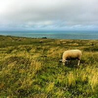 Photo taken at Cap Gris Nez by Dmitry 🔞 on 8/9/2013