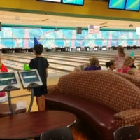 Photo taken at Alley Katz Bowling Center by Melissa T. on 9/21/2014