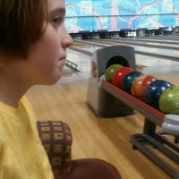 Photo taken at Alley Katz Bowling Center by Melissa T. on 8/9/2015