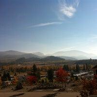 Photo taken at Ok Falls, BC by Jackie on 10/19/2013