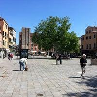 Photo taken at Campo Santa Margherita by Dan L. on 5/26/2013