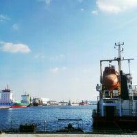 Photo taken at Fischereihafen II by Thea on 9/18/2014