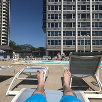 Photo taken at Imperial Towers Pool by Knick B. on 6/10/2017
