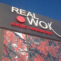 Photo taken at Real Wok Exotic Restaurant by Liang Z. on 4/1/2013