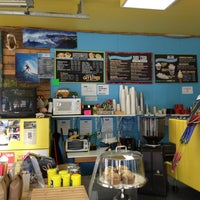 Photo taken at Surf Town Coffee Company by Cactus J. on 4/3/2013