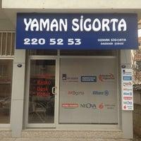Photo taken at Yaman Sigorta by Mehmet K. on 1/23/2015