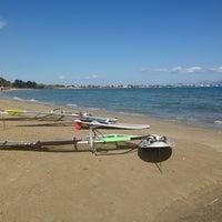 Photo taken at Tony Frey Windsurfing Club by Kritselis G. on 10/18/2013