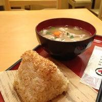 Photo taken at おむすび権米衛 品川グランパサージュ店 by Kayo E. on 5/16/2013