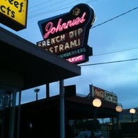 Photo taken at Johnnie's Pastrami by Craig S. on 7/21/2013