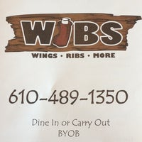Photo taken at Wibs Wings Ribs & More by 🚨🚑Matt S. on 12/12/2012