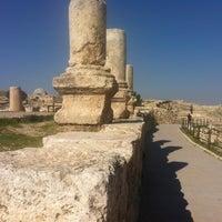 Photo taken at Amman Citadel by Francesca T. on 1/4/2013