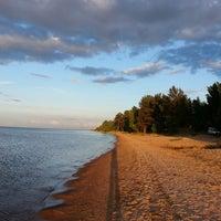 Photo taken at Lake Ladoga by Elena S. on 6/15/2013