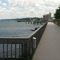Photo taken at North Beach Boardwalk by Donnie M. on 7/7/2013
