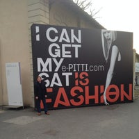 Photo taken at PITTI IMMAGINE UOMO by Alexander K. on 1/9/2014