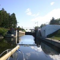 Photo taken at Canal Lock 4 by Nicholas W. on 5/26/2016