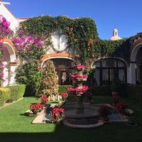 Photo taken at Posada Del Virrey by Florian K. on 12/22/2016