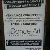 Photo taken at Dance Art Osasco by Raphael Maluf d. on 7/16/2013