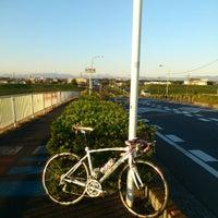 Photo taken at 羽根倉橋 by Ayane on 11/3/2012