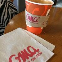 Photo taken at Café Oma Muelle Internacional by Rodo L. on 3/2/2014